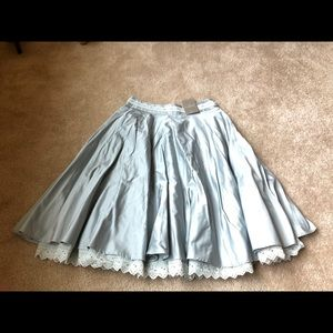 Anthropologie Odille Full Circle Skirt, Size 2 NWT